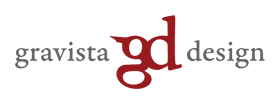 Gravista Design Logo